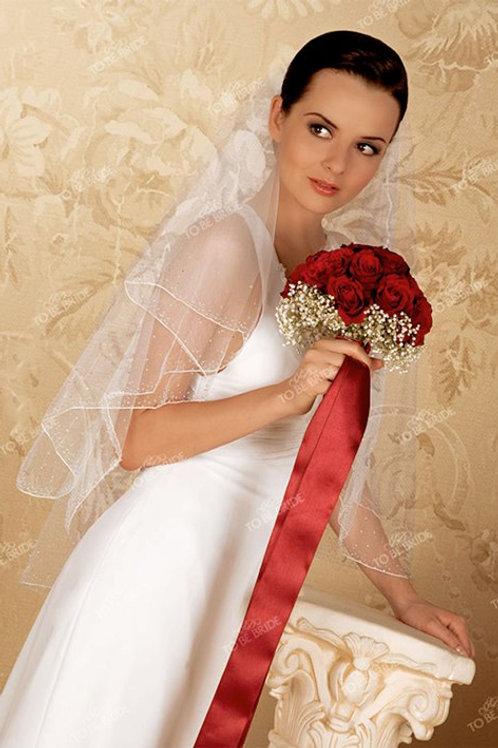 Свадебная фата F008