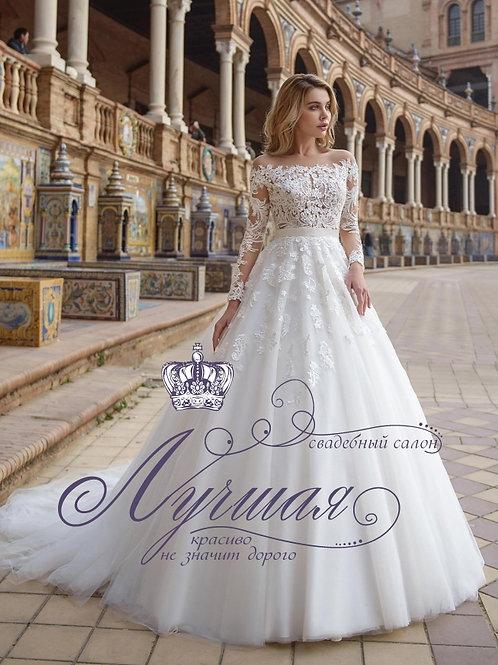 Свадебное платье P002