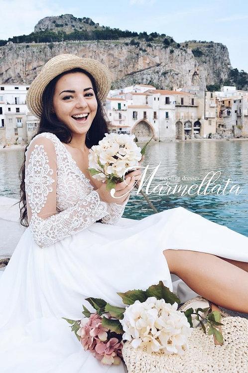 Свадебное платье B016