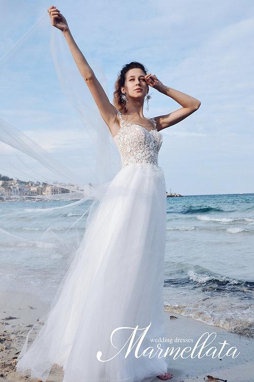 Свадебное платье B013