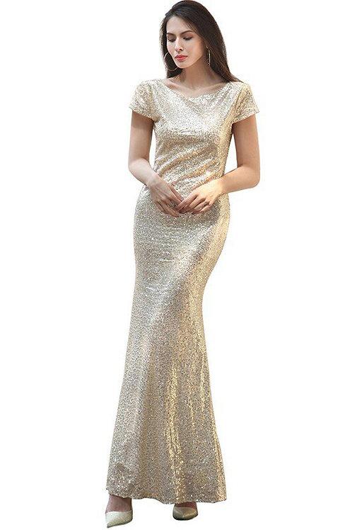 Вечернее платье В008
