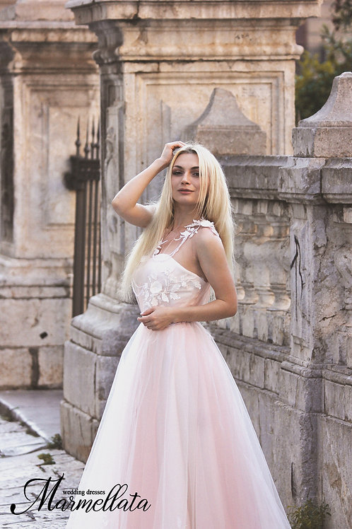 Свадебное платье B017