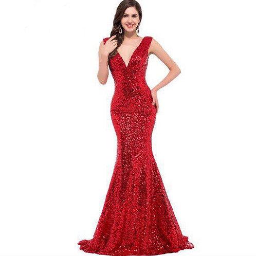 Вечернее платье В003