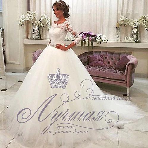 Свадебное платье A056