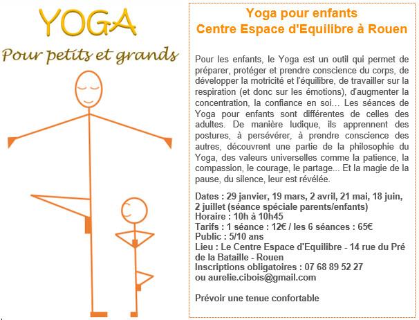 Démarrage du Yoga pour Enfants