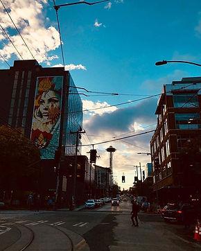 Capturing Shepad Fairey's work in Seattle