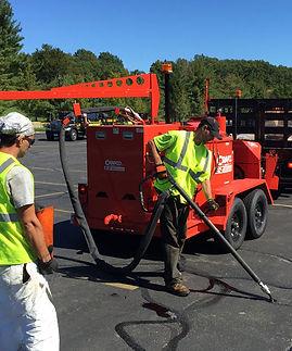 asphalt crack repairs