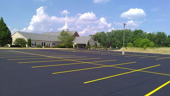 parking lot striping frisco tx
