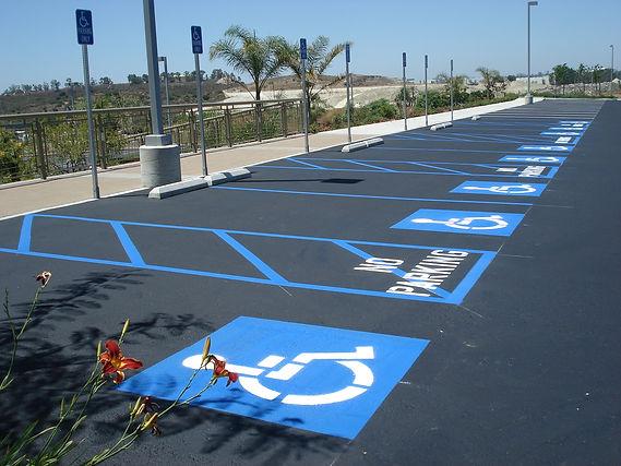 parking lot striping greenville Tx