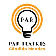 Logo PAR Candido Mendes Quadrada Branco.
