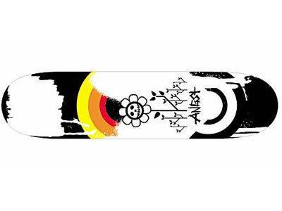 Angst Insomniaks La morte complete Skateboard Deck 8.0
