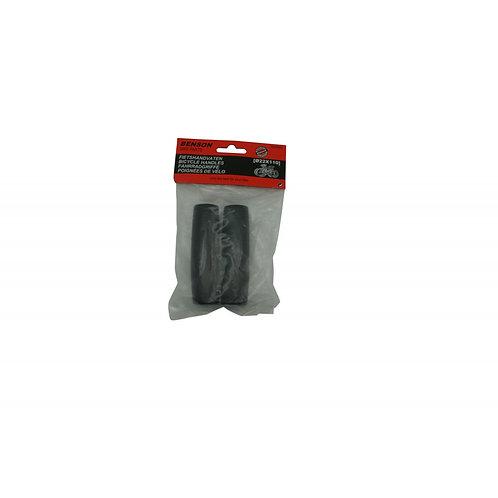Χερούλια ποδηλάτου σετ Benson, 0.22X110mm, Μαύρο