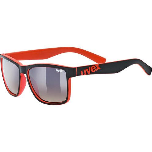 Γυαλιά ηλίου Uvex lgl 39 black mat red/brown