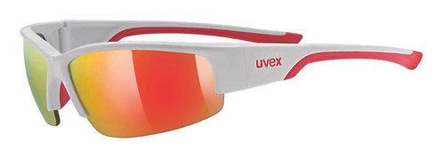 Γυαλιά ηλίου Uvex sportstyle 215  white mat red/mirror red
