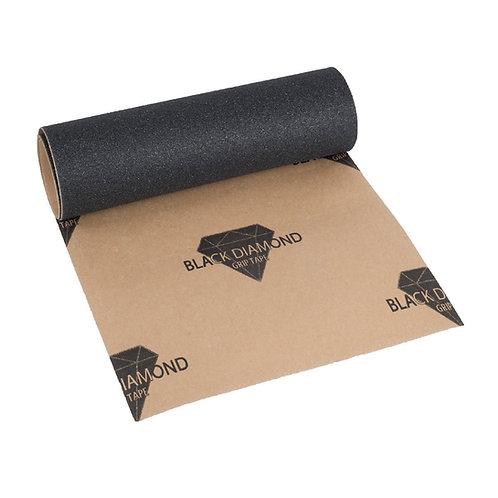 Black Diamond Skateboard Griptape Black
