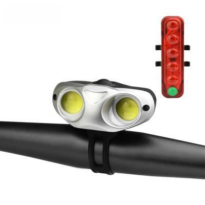 Φώτα ποδηλάτου σετ USB Qixun