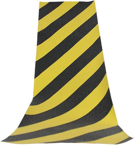 Black Diamond Skateboard Griptape Caution
