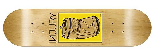 INJURY Skateboard Deck Juice 8.25