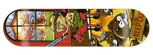 FUA Putin Skateboard Deck 8.12'