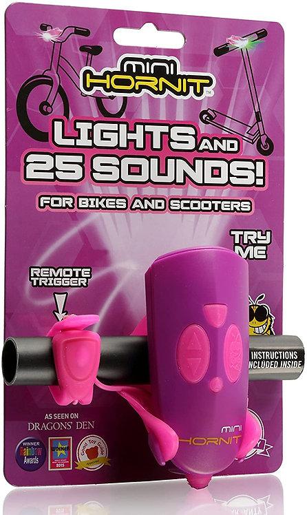 Κόρνα με φωτάκι Mini HORNIT - Purple / Pink