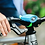 Thumbnail: Mini Hornit NANO, Bicycle Light with  Sound Effects Blue Green