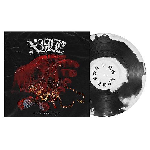 "XILE ""I Am Your God"" 12″ VINYL (#200 White/Black)"
