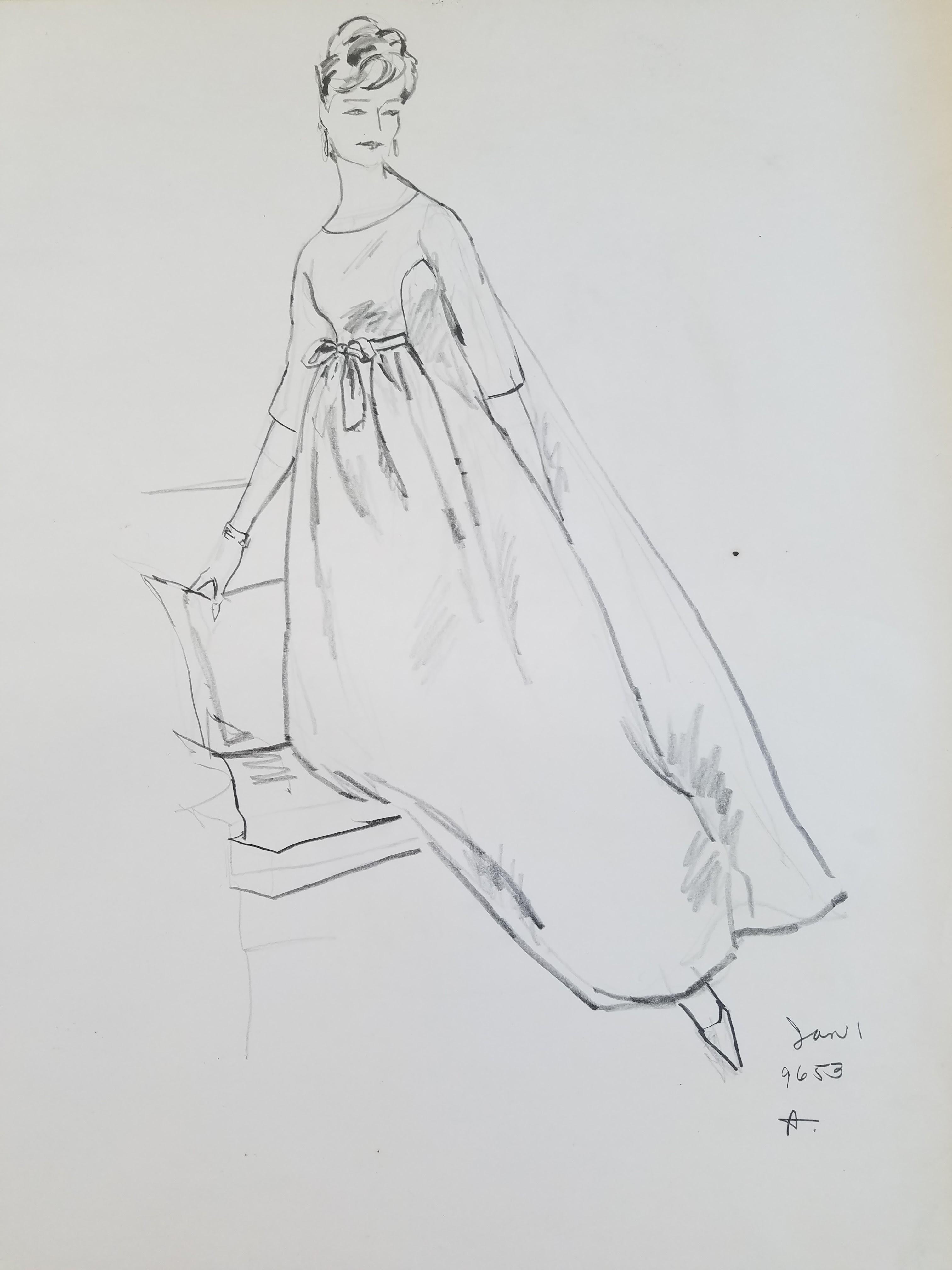 Ball gown & chair