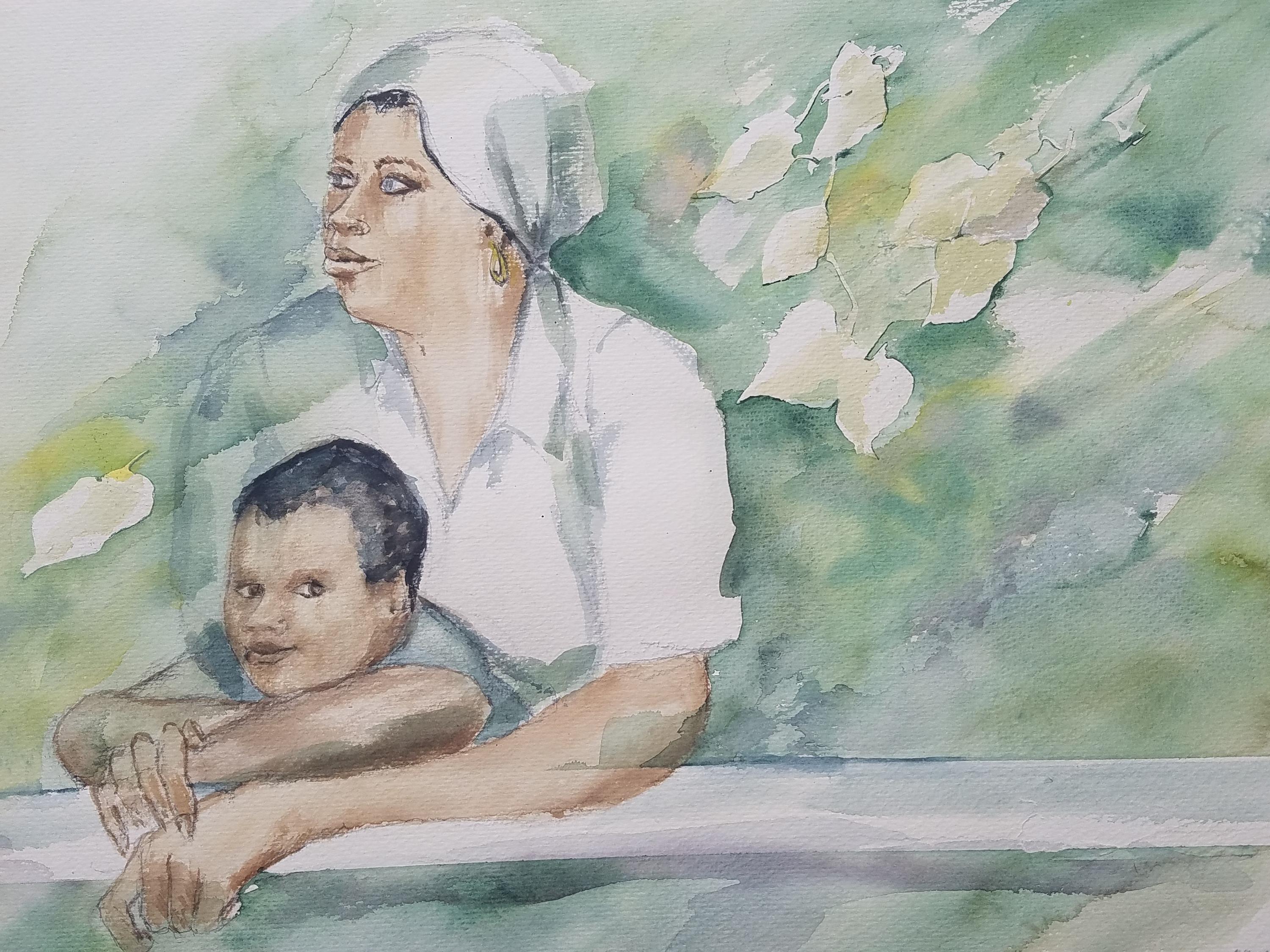 33) Mother and Son