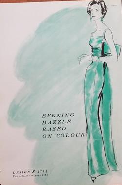 Evening Dazzle published art