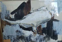 24) Resting Swan