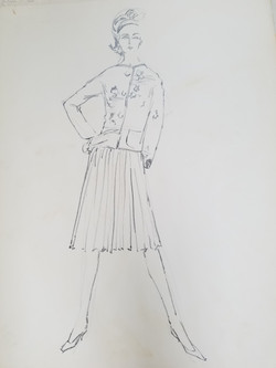 Pleated with jacket