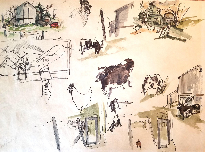 Farm Yard Whimsey