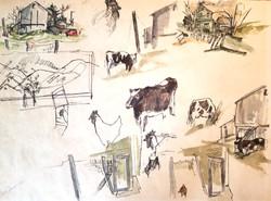 37) Farm Yard Whimsey
