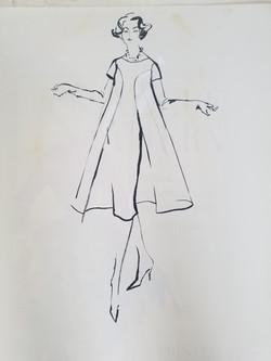 Empire Style...coat dress