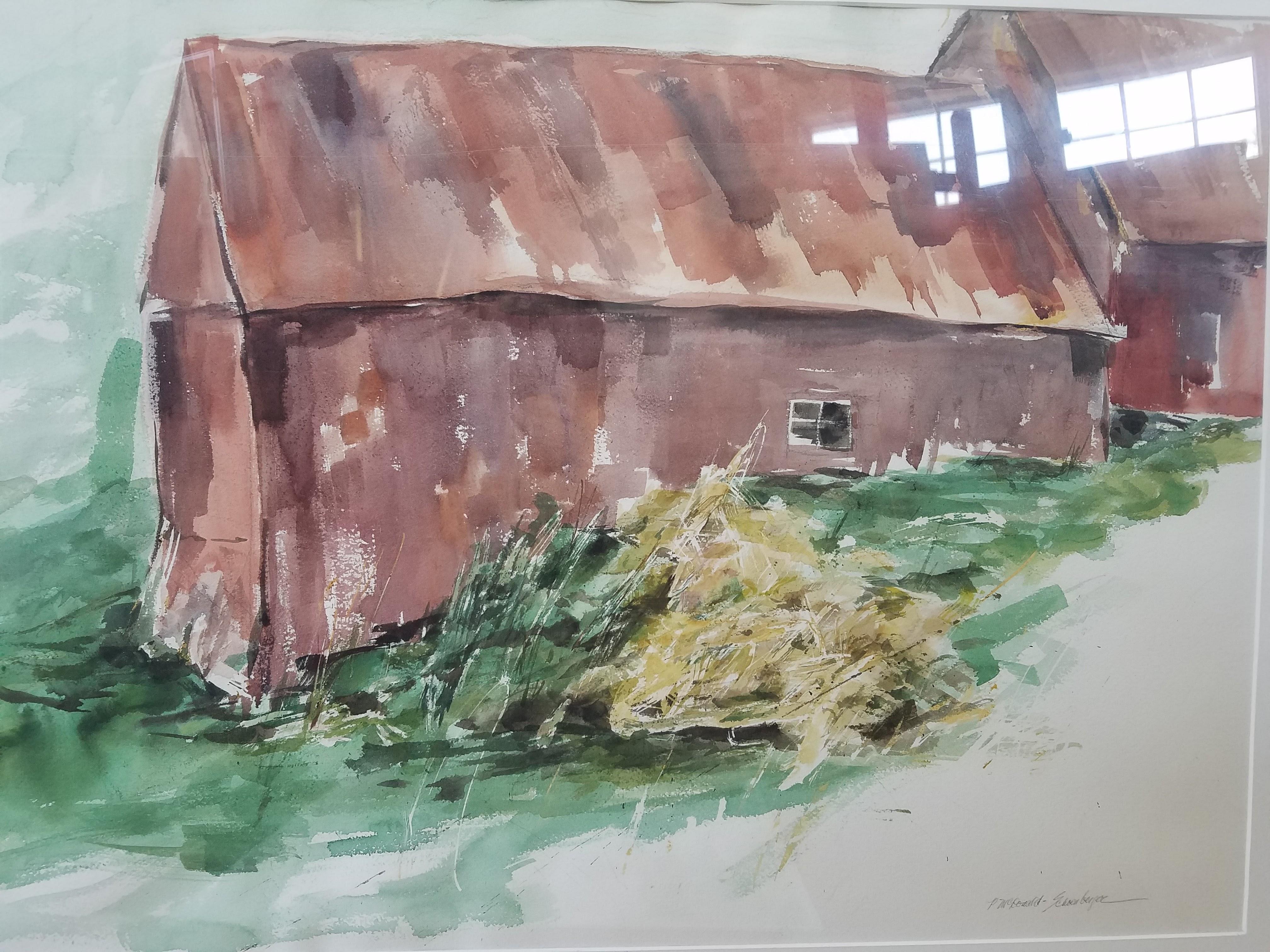 20) Red Barn