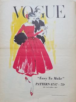 Easy To Make- Vogue Pattern