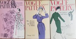 Vogue Pattern Display Signs