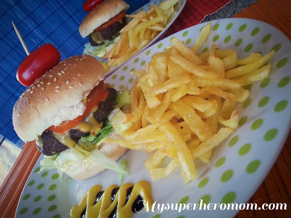 φανταστικά σπιτικά burger