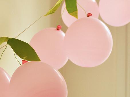Φτιάξτε κερασάκια-μπαλόνια για να διακοσμήσετε το δωμάτιο του παιδιού σας!