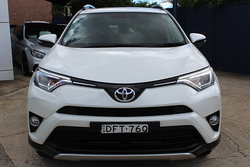 2016 Toyota RAV4 ZSA42R MY16 GXL (2WD) White Continuous Variable Wagon