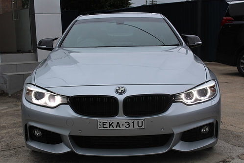 2014 BMW 428i F32 MY14 M Sport White 8 Speed Automatic Coupe