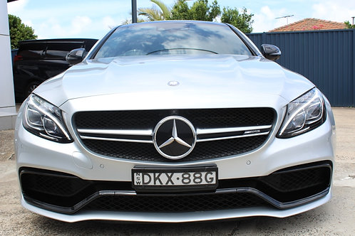 2016 Mercedes-AMG C63 S C White 7 Speed Automatic Coupe