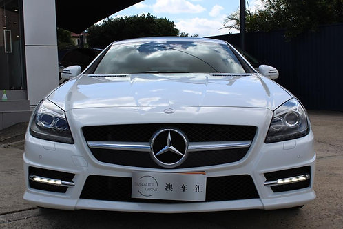 2016 Mercedes-Benz SLK200 R172 MY16 White 9 Speed Automatic Convertible