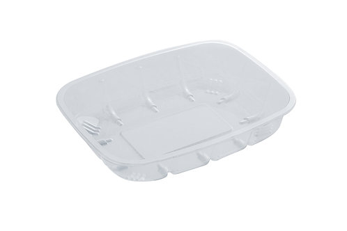 Biodegradable PET tray