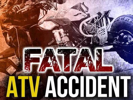 Holland - Fatal ATV/UTV Accident Early Friday Evening.