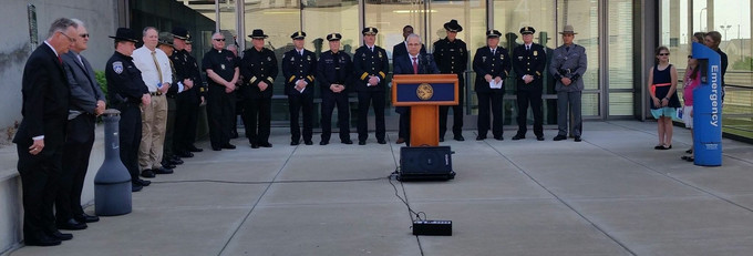 Central Police Services Honors Fallen Officer's