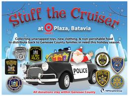 Batavia - NYSP Stuff the Cruiser Event.