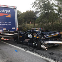NYS Police are investigating a serious personal injury accident involving a State Trooper on I-190.