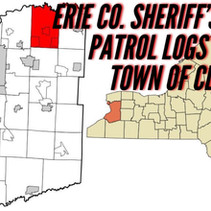 Erie Co. Sheriff's Office Patrol Logs for the Town of Clarence 09/26 Through 10/02.