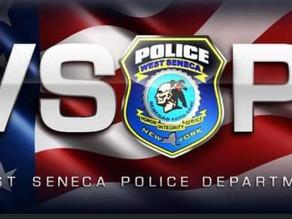 West Seneca Police Dept Patrol Logs/Blotter From April 25th Through May 1st.